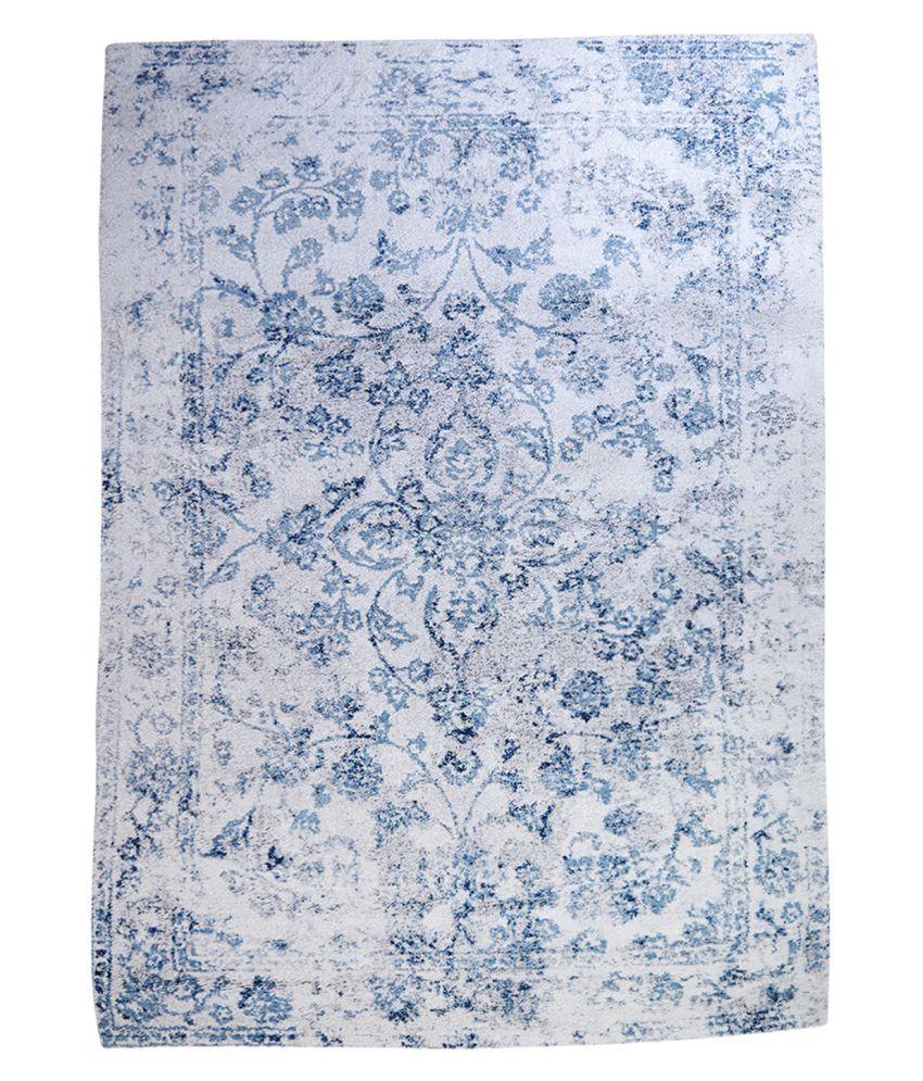 Obsessions Multi Polypropylene Carpet Floral 2x4 Ft