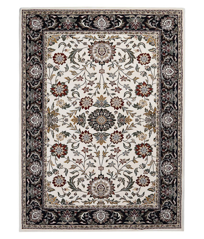 Obsessions Multi Polypropylene Carpet Floral 3x6 Ft