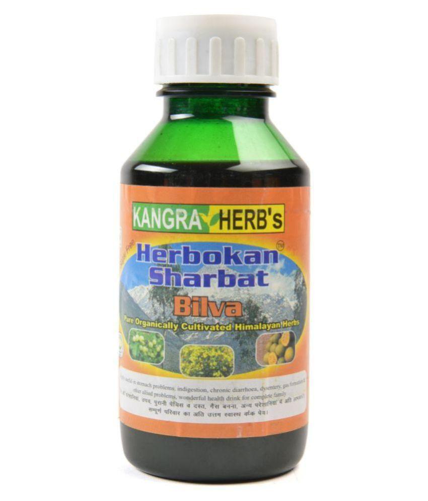 KANGRA HERB Herbokan Sharbat Bilva Health Drink Liquid 500 ml Natural Vanilla