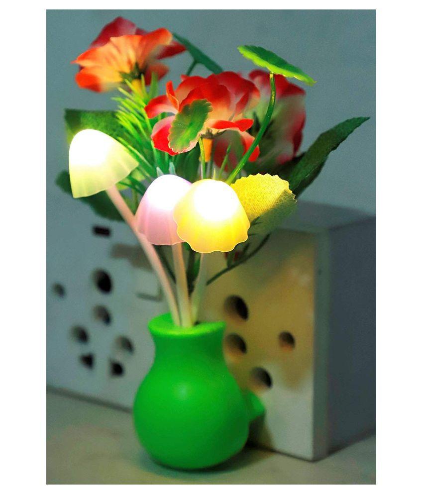 mushroom light Night Lamp Multi - Pack of 1