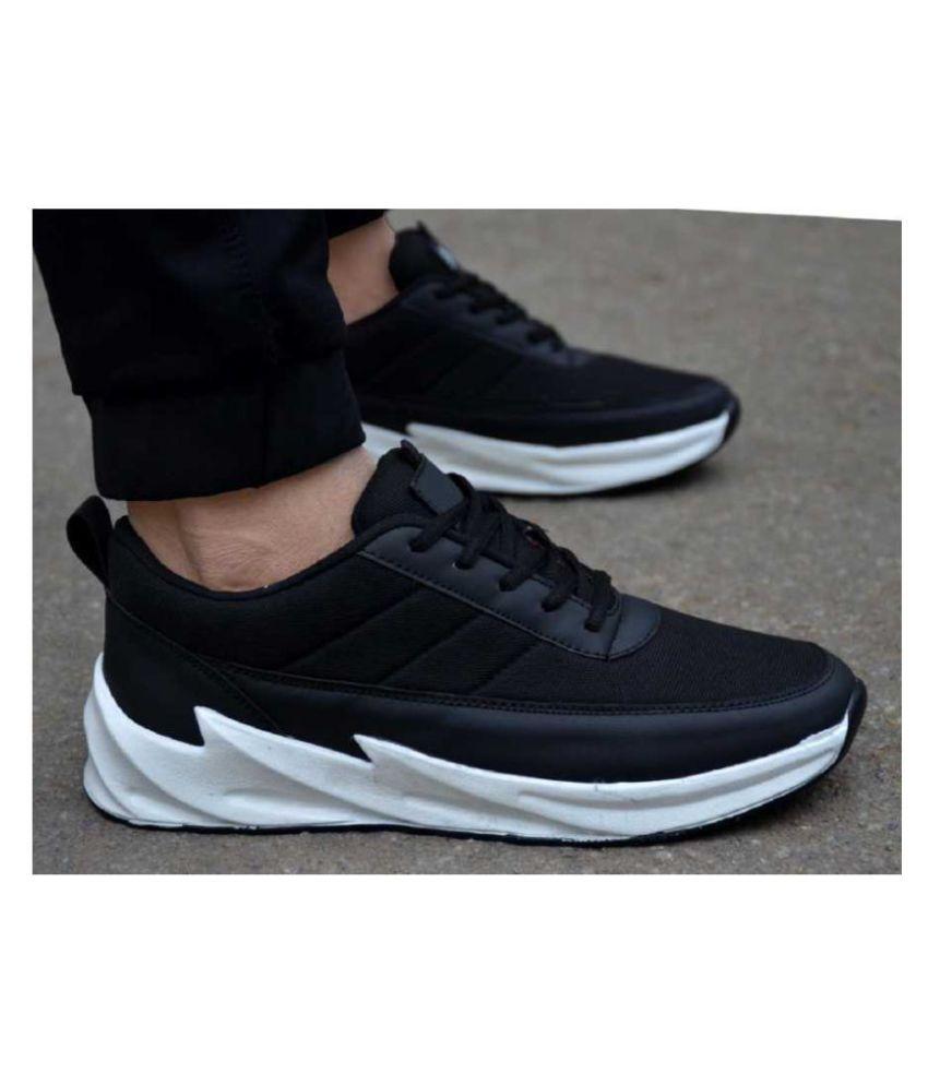 Buy Black Bottom Lifestyle Black Casual