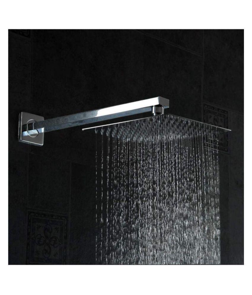 SKS 8X8 HEAD 15X15 ARM Stainless Steel Overhead Shower