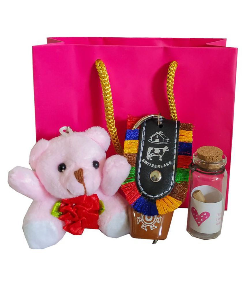 Blooming Box Metal Valentine Hamper Multicolour   Pack of 4