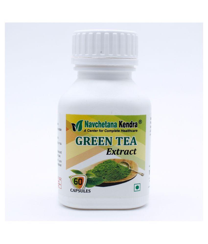 NAVCHETANA KENDRA Green Tea Extract Capsule 60 no.s Pack Of 1