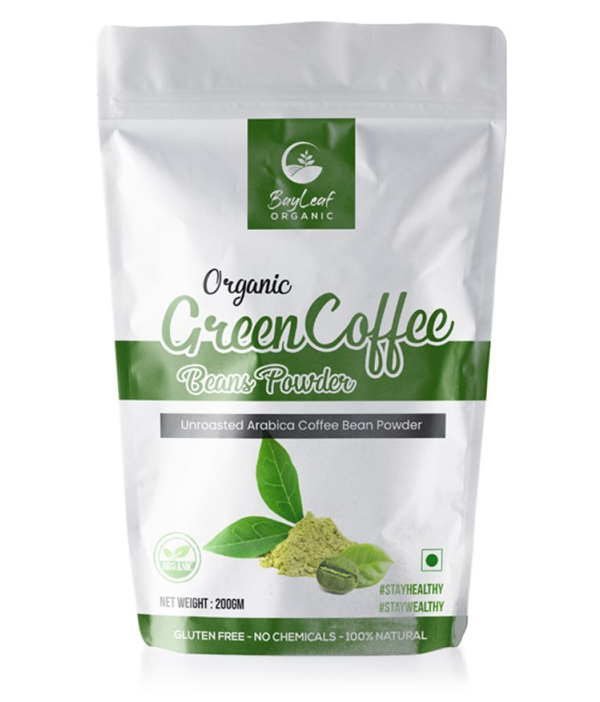 BayLeaf Organic Green Coffee Beans Powder for Weight Loss ...