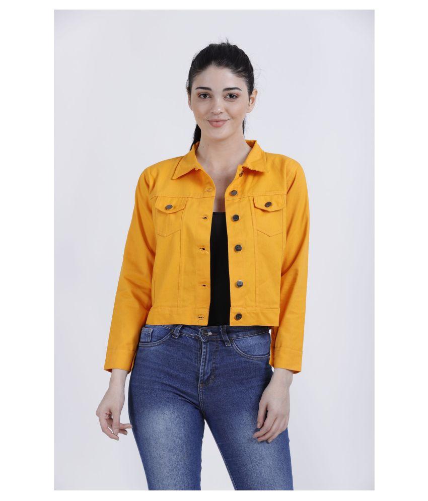 FineCreations Cotton Yellow Jackets