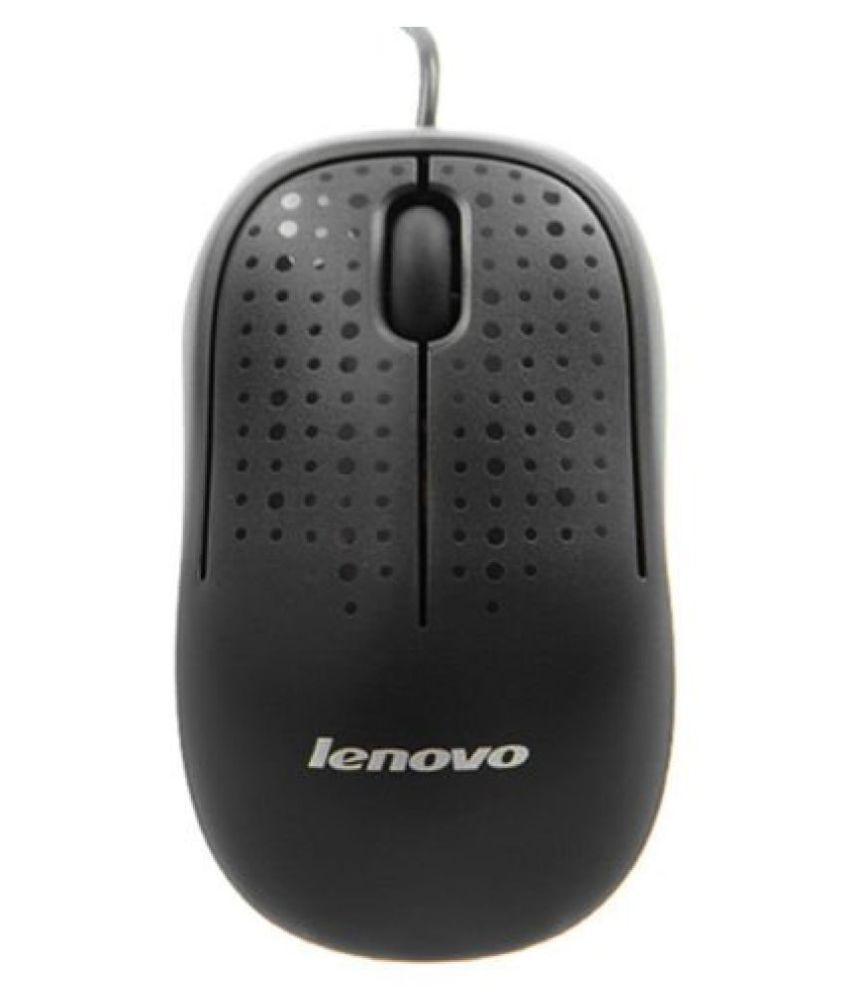 Lenovo M110 Black USB Wired Mouse