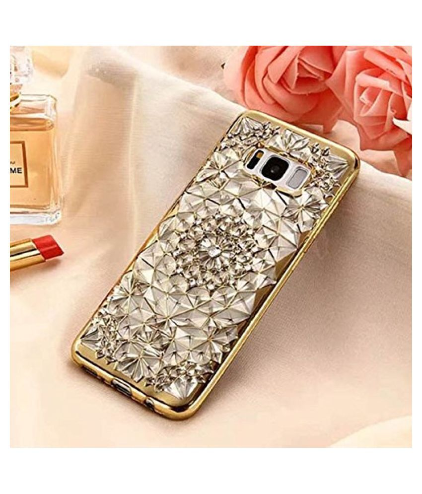 Samsung S8 plus 3D Back Covers By Samsung Galaxy Glitter Diamond Back Cover