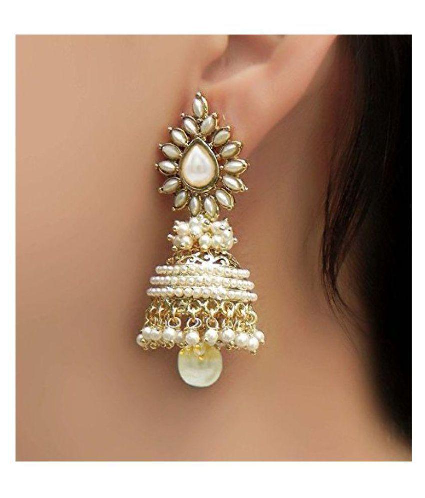 Penny Jewels Jhumki Earrings