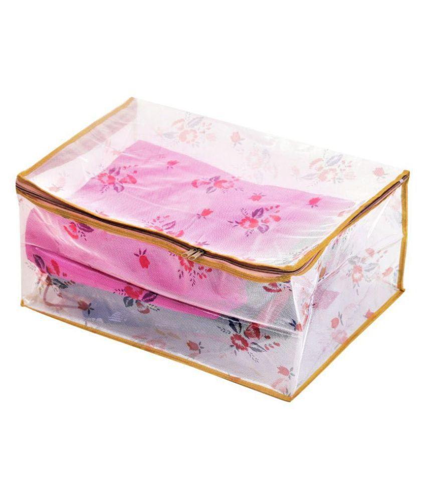 RAJA Gold Saree Covers - 1 Pc