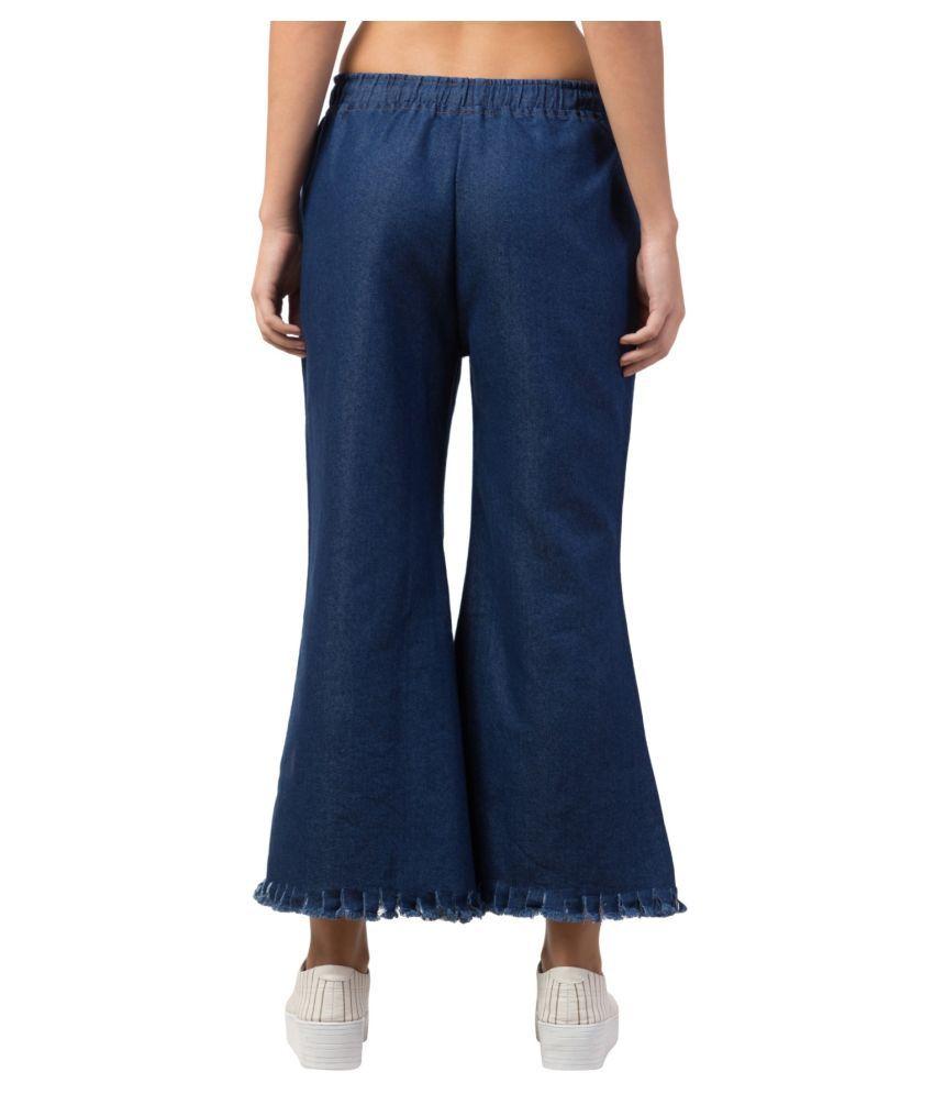 Kyla's Exclusive Denim Lycra Jeans - Blue