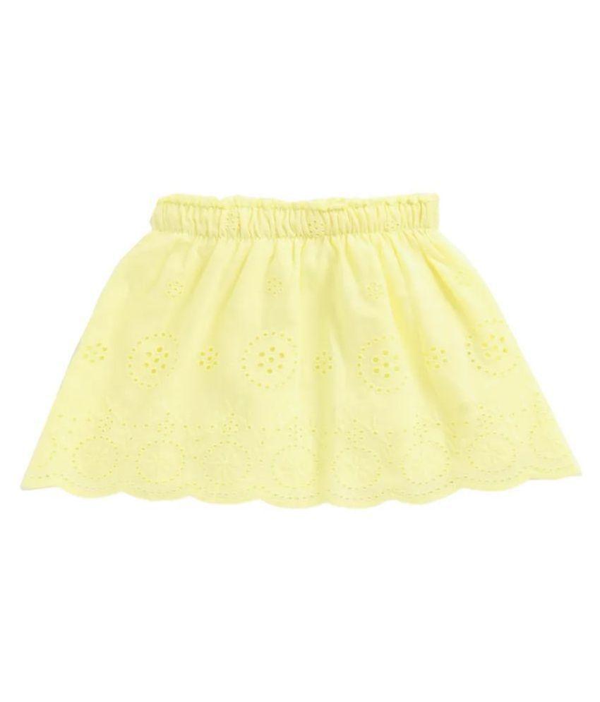 Spring Bunny - Toddler Girl ' Alicine ' Yellow Skirt-3Yr