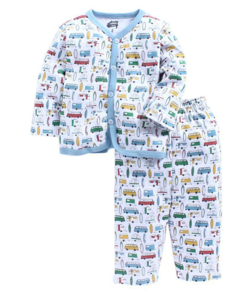 SPRING BUNNY - Toddler Boy 'Surfs up' Cotton Pyjama Set.
