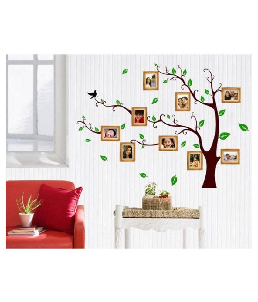 HOMETALES Family Photo Tree Sticker ( 196 cm x 120 cm)