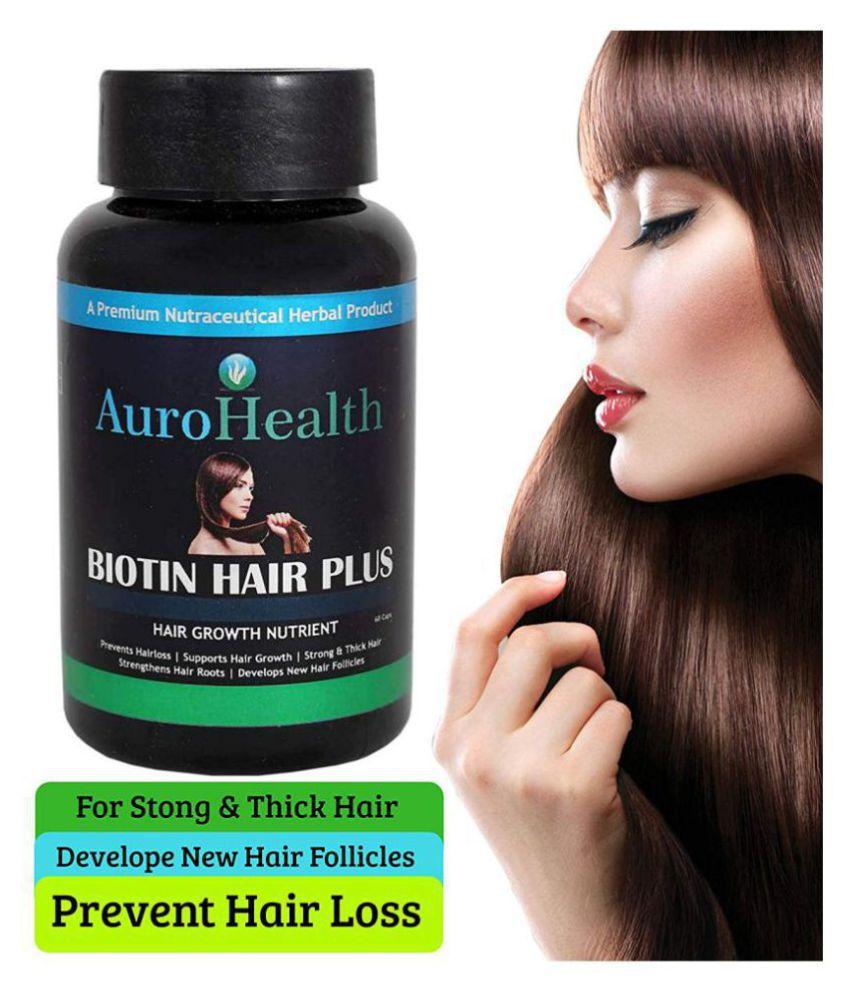 URZANO BIOTIN HAIR PLUS Strength for Hair, Skin & Nails, Capsule 60 no.s