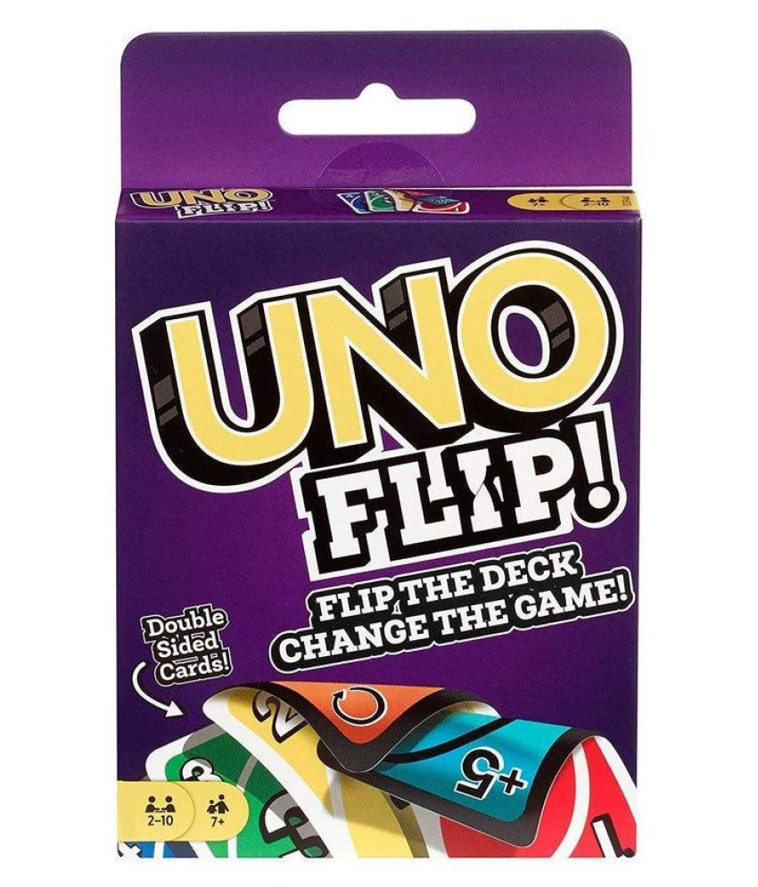 Mubco® Uno Flip! Playing Cards Game