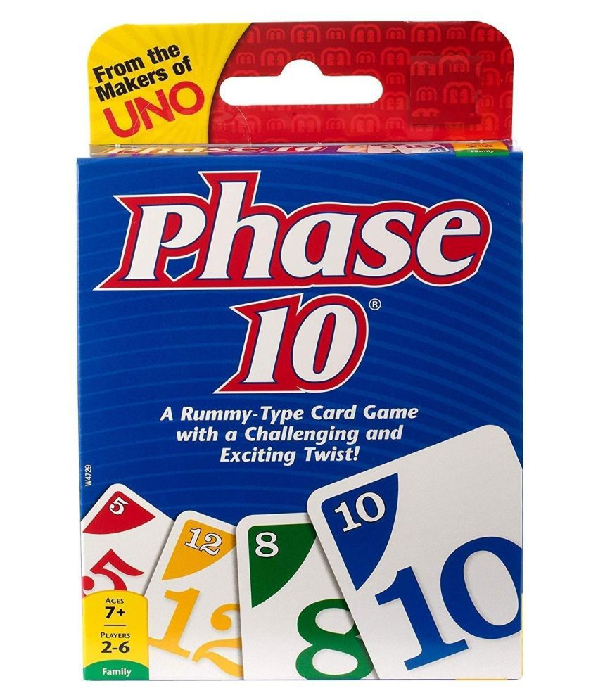Mubco® Uno Phase 10 Card Game