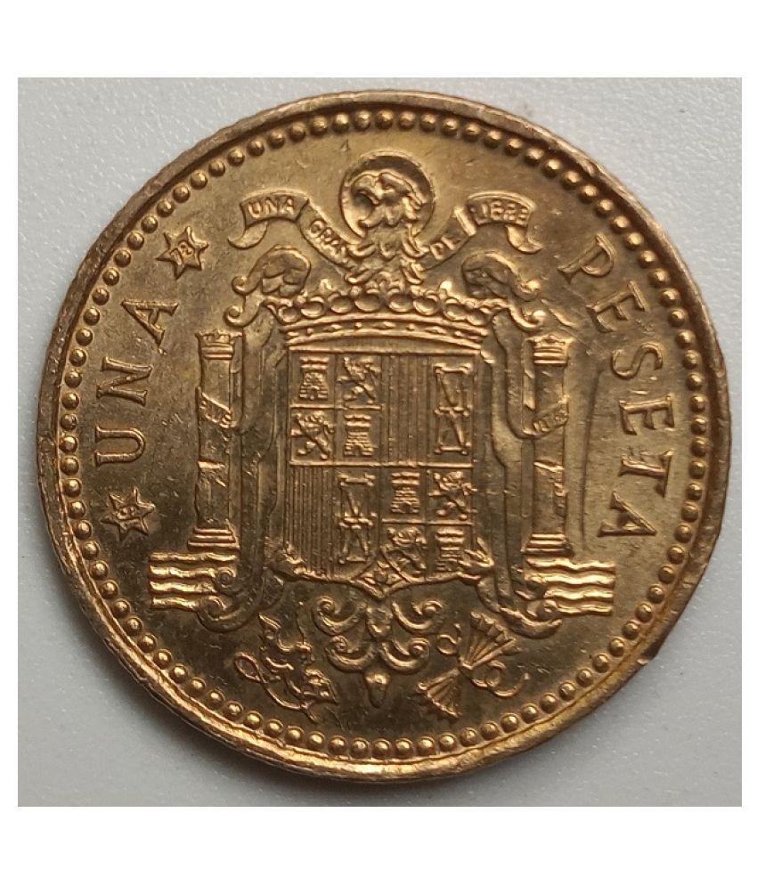 juan carlos 1 rey de espana 1975 coin
