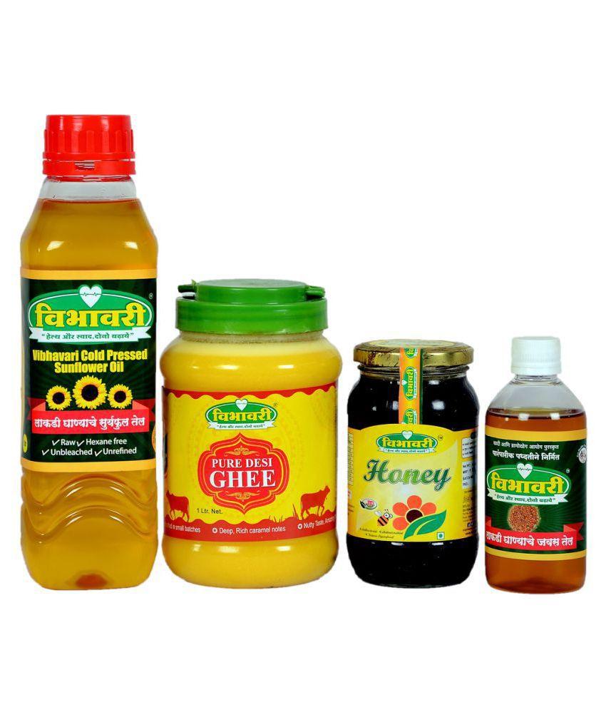 Vibhavari Seed oil 2700 mL Pack of 4
