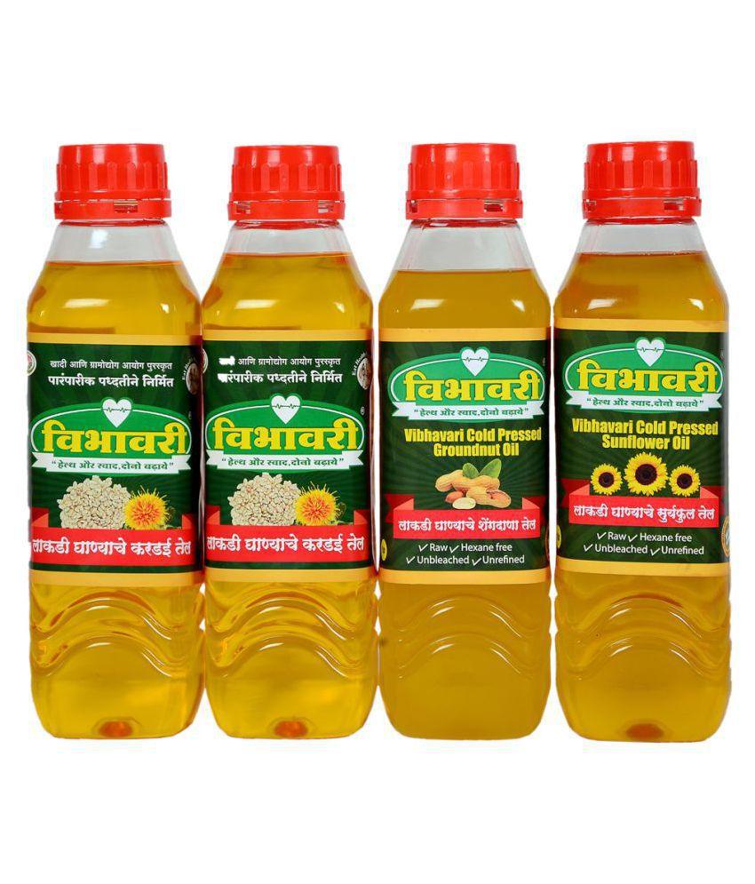 Vibhavari Seed oil 4 L Pack of 4