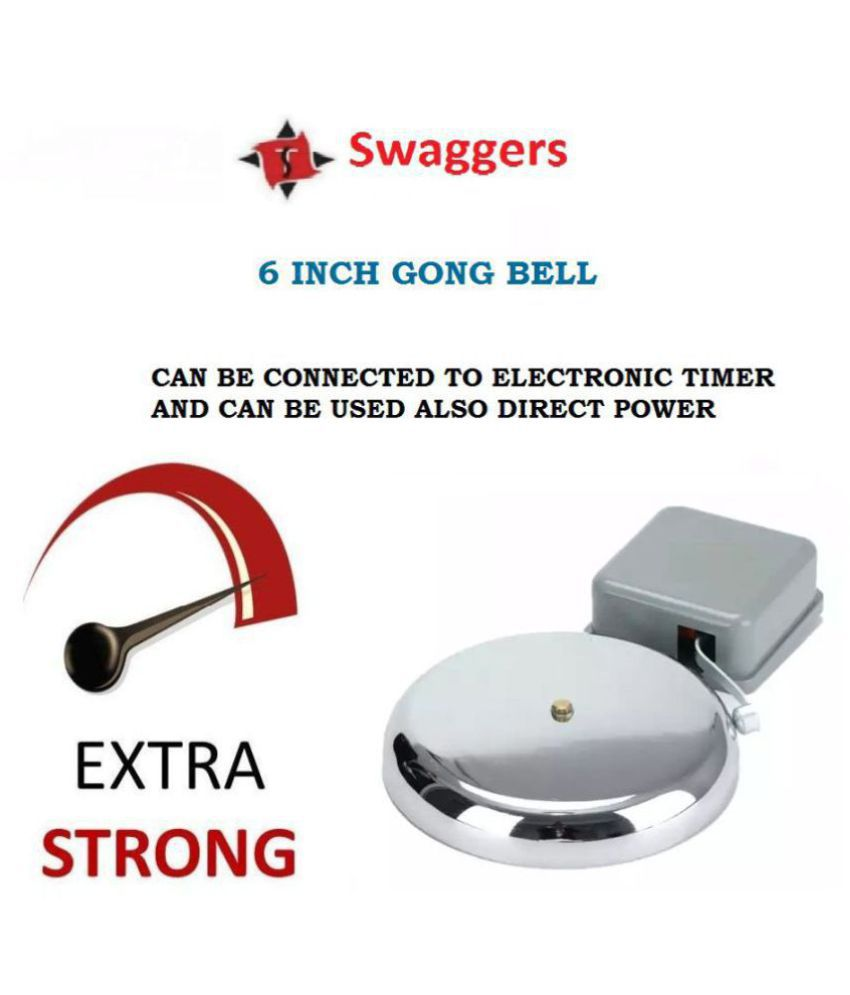 swaggers 6 inch factory best model gong bell