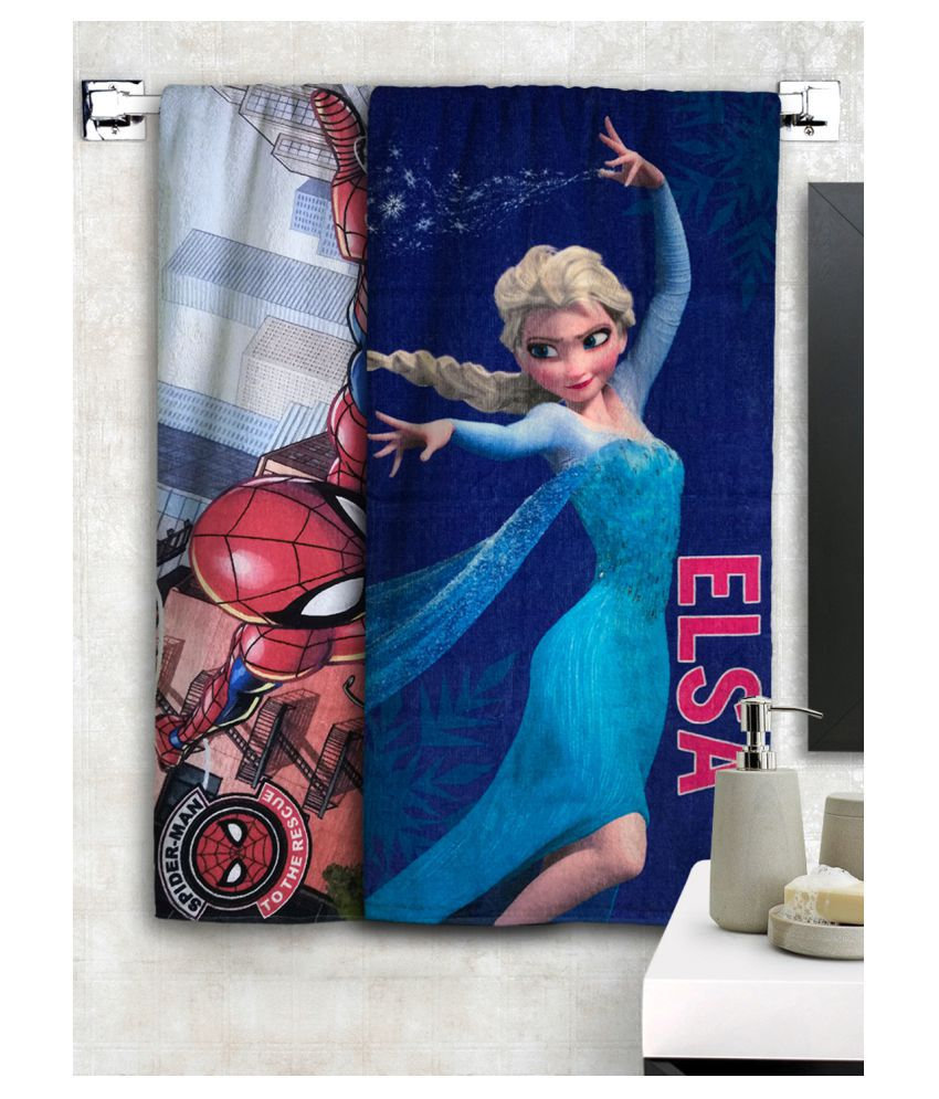Disney Set of 2 Cotton Bath Towel Multi