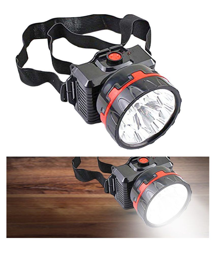Stylopunk 5W Flashlight Torch Rocklight Head Lamp - Pack of 1