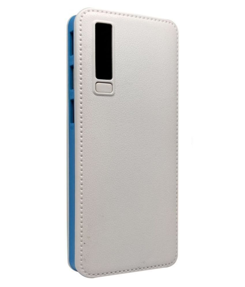 STONX P7 2 Amp 10000  mAh Li Ion Power Bank White Blue