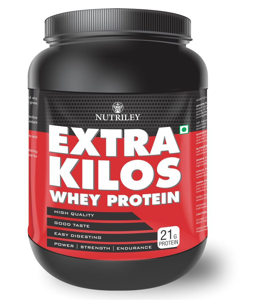 CRD Ayurveda Extra Kilos-Whey Protein (1 KG)-Vanila 1 gm