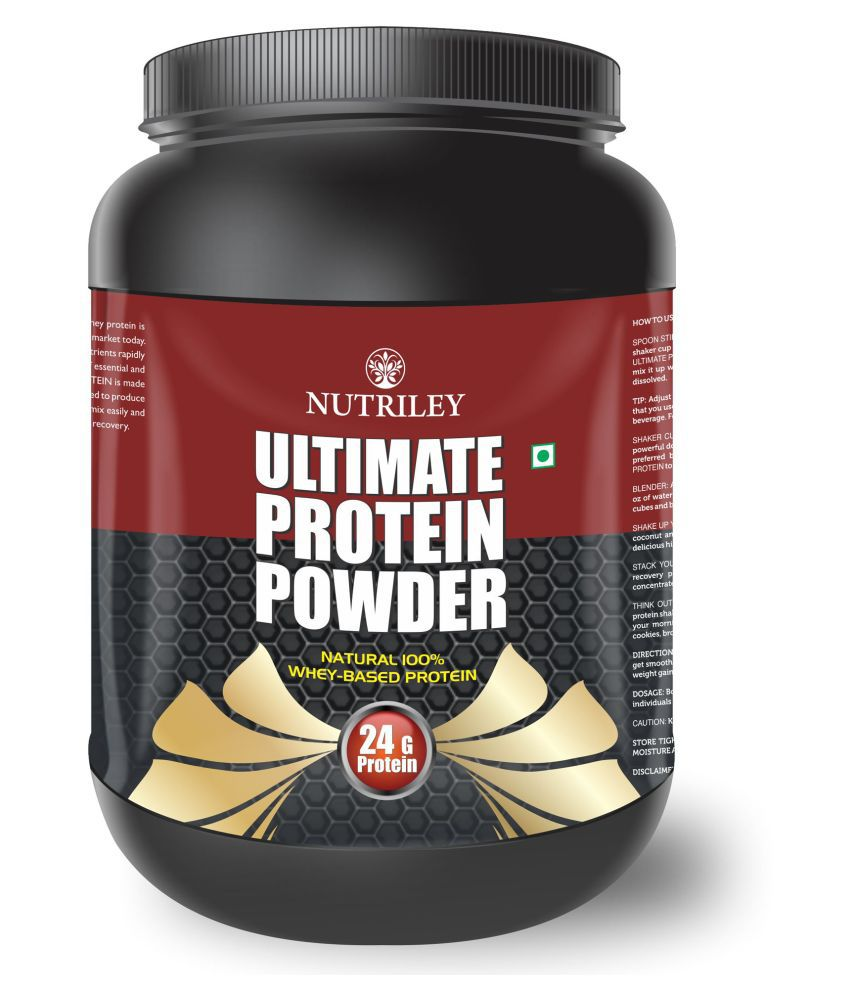 CRD Ayurveda Ultimate Protein-Whey Protein (500 Gms)-Vanila 1 gm