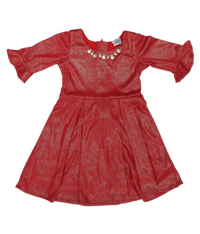 Doodle Glitz Partywear Dress