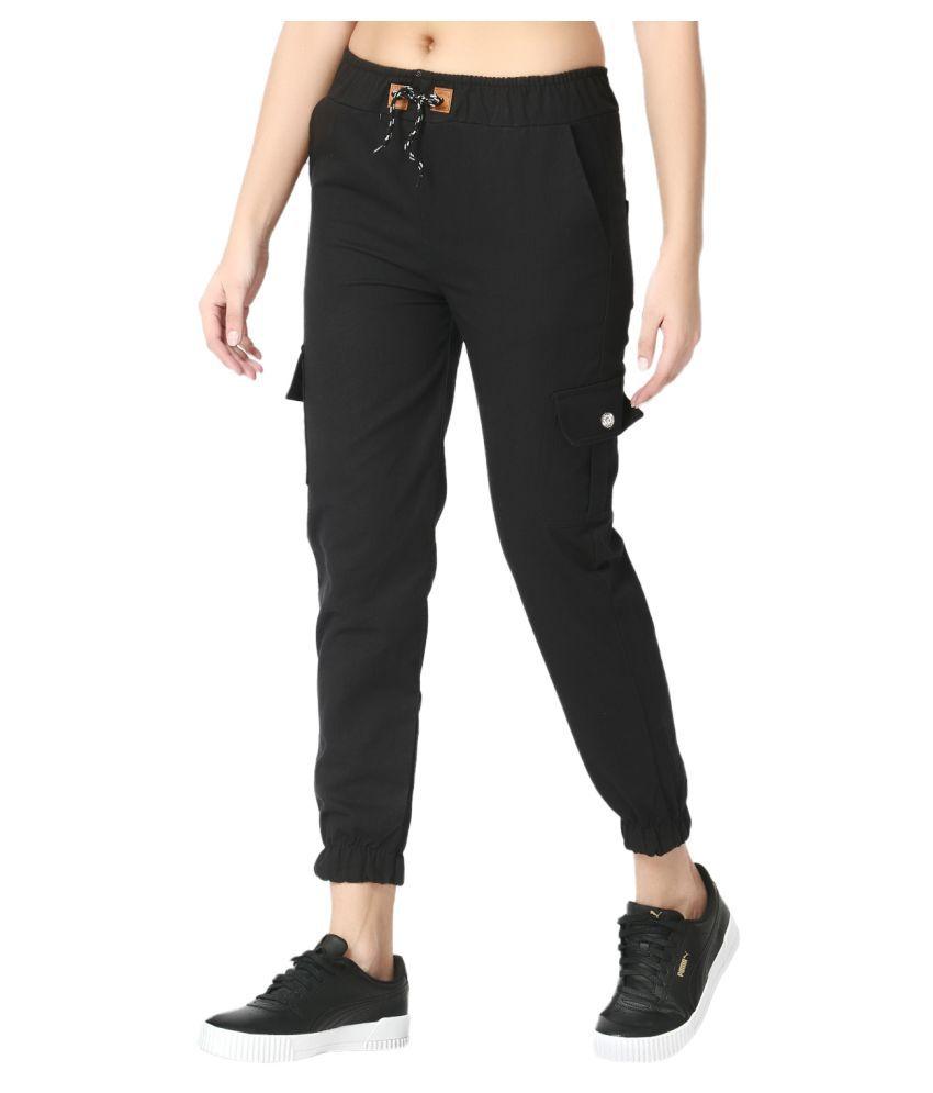 BuyNewTrend Cotton Lycra Jeans - Black