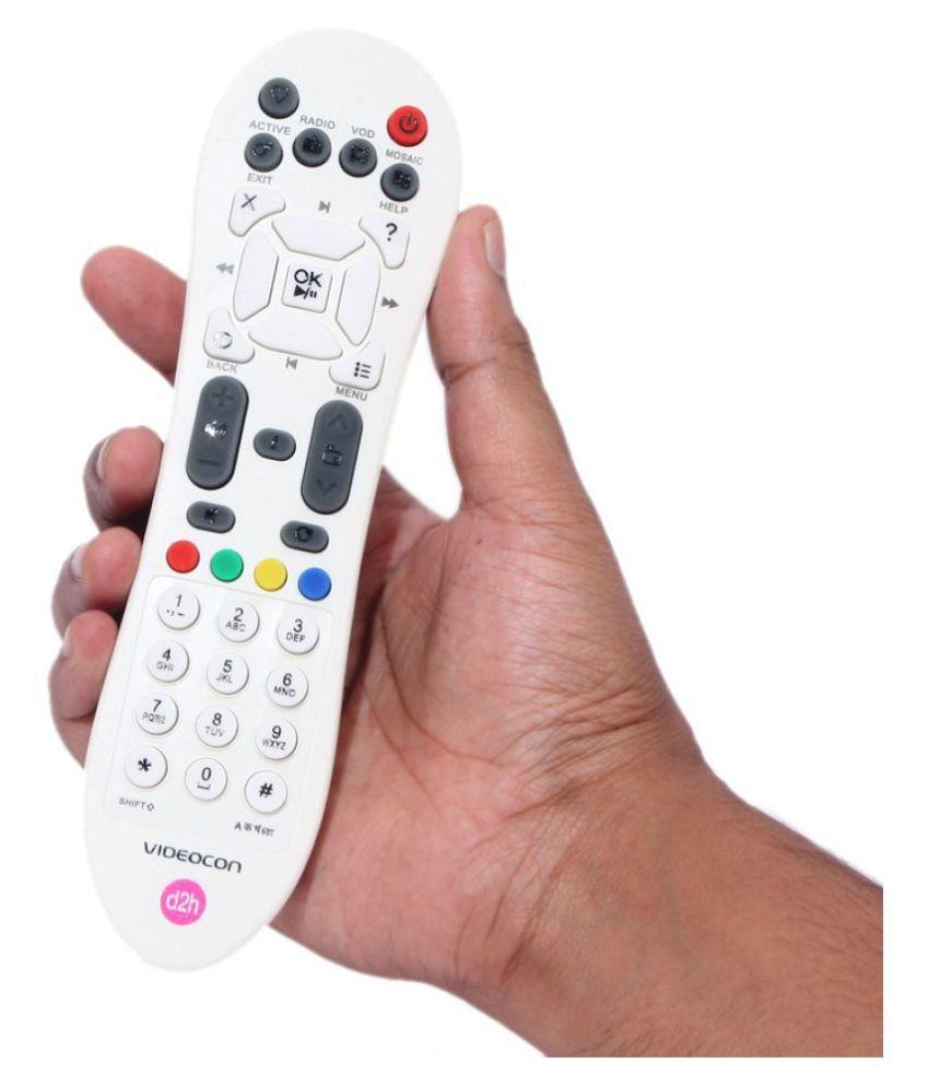 OSSDEN Videocon d2h REMOTE DTH Remote Compatible with Set Top Box RMT