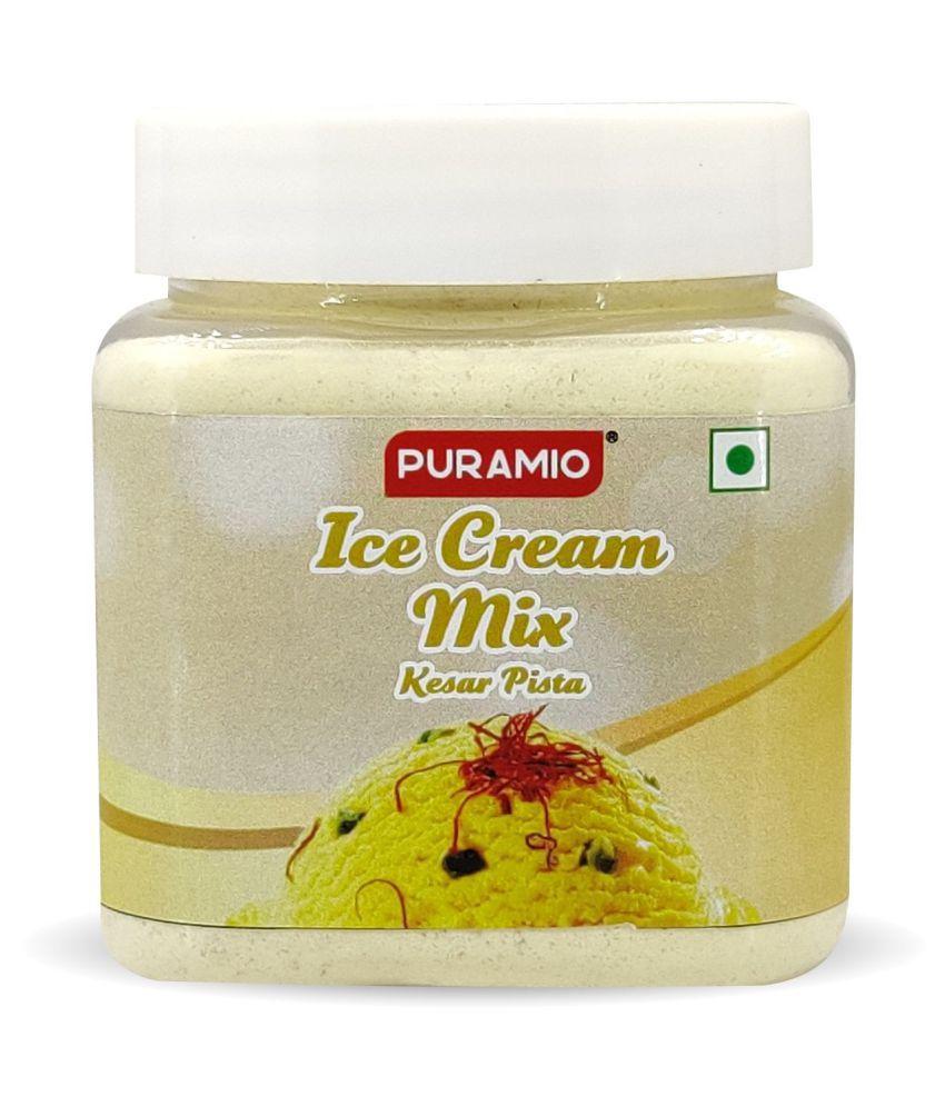 PURAMIO Ice Cream Mix Kesar Pista 250 g