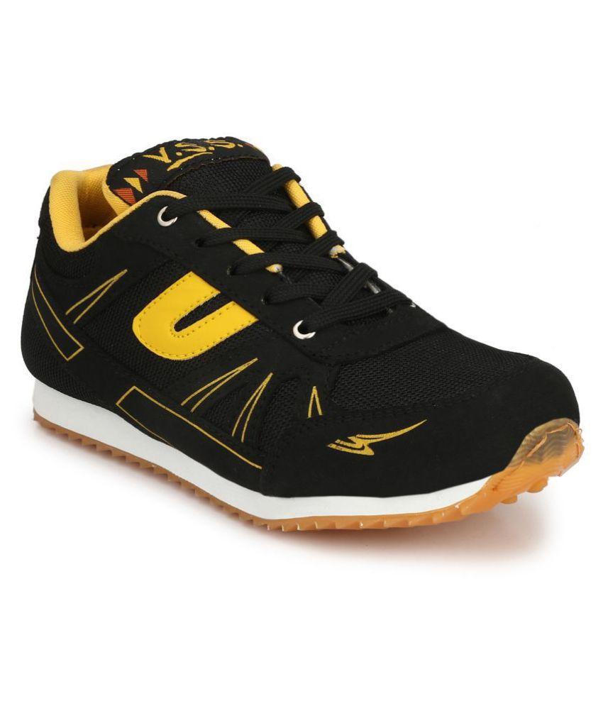 VSS Black Running Shoes