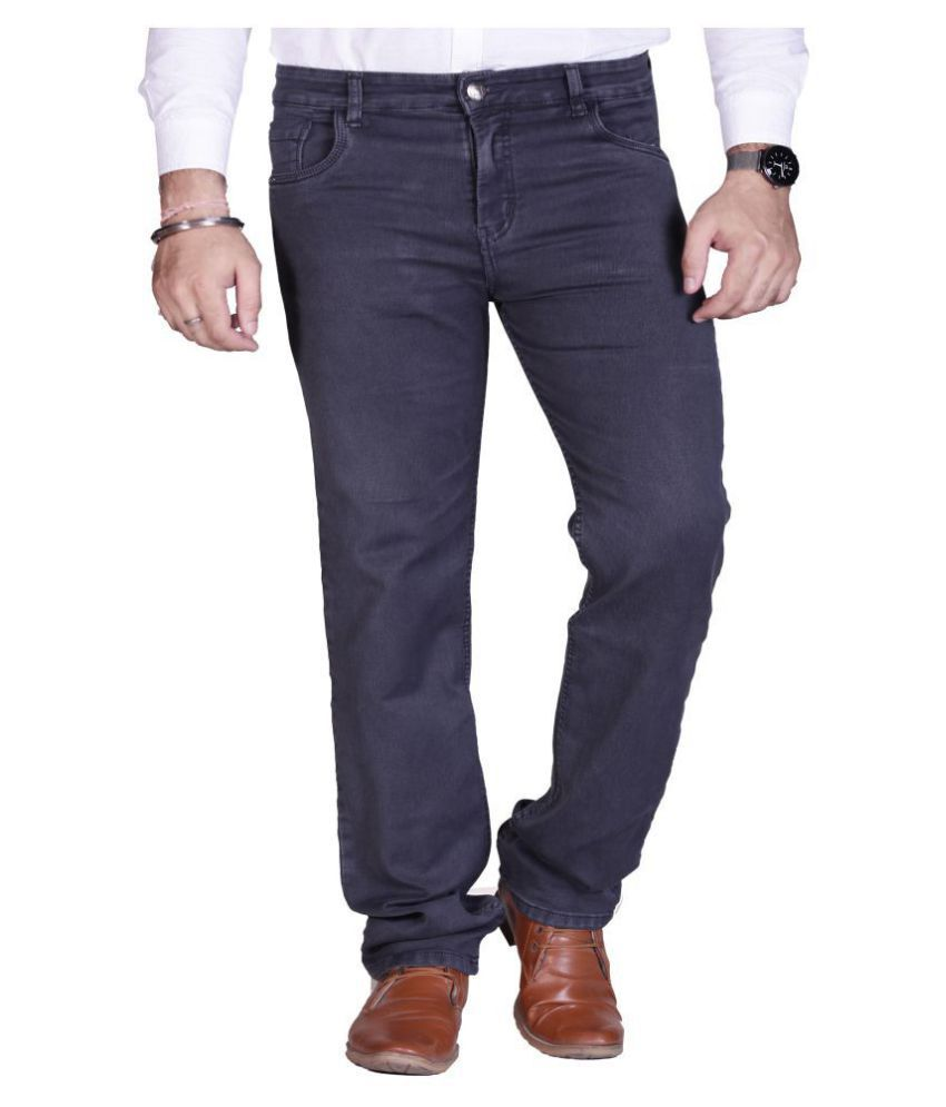 PRANKSTER Blue Regular Fit Jeans