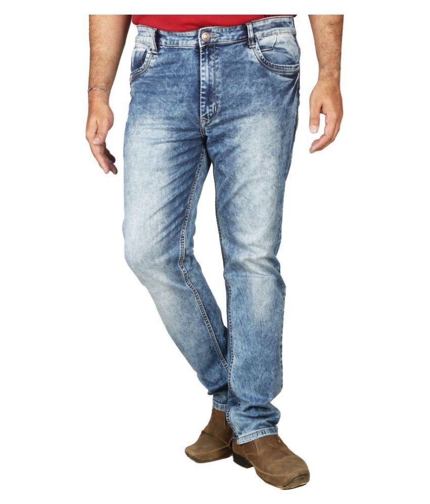 PRANKSTER Light Blue Slim Jeans