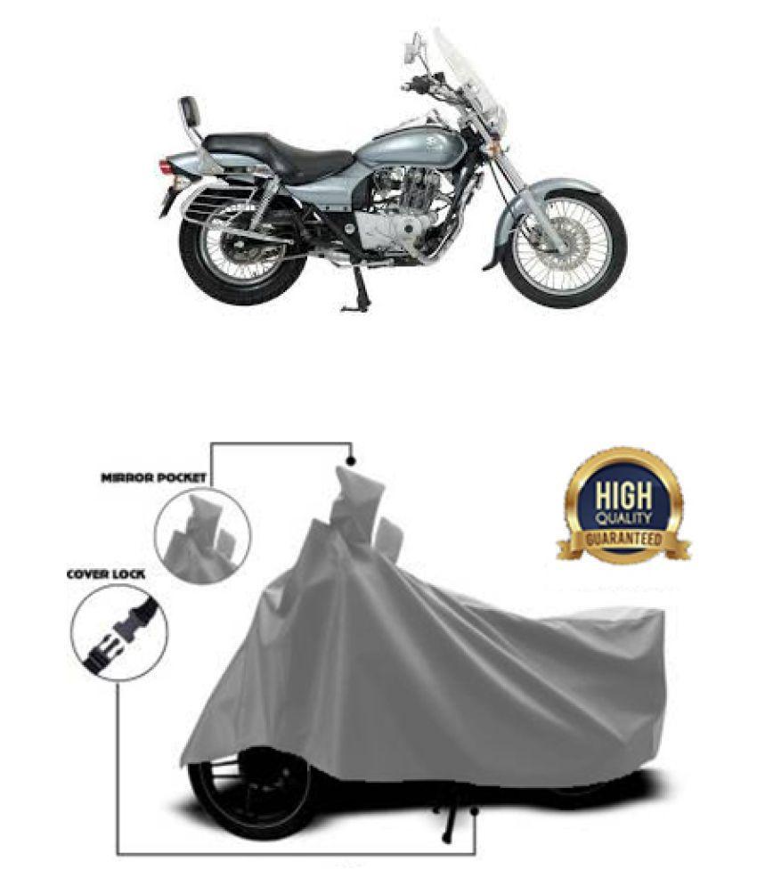 QualityBeast two wheeler cover for Bajaj Avenger 220 DTS-i Grey