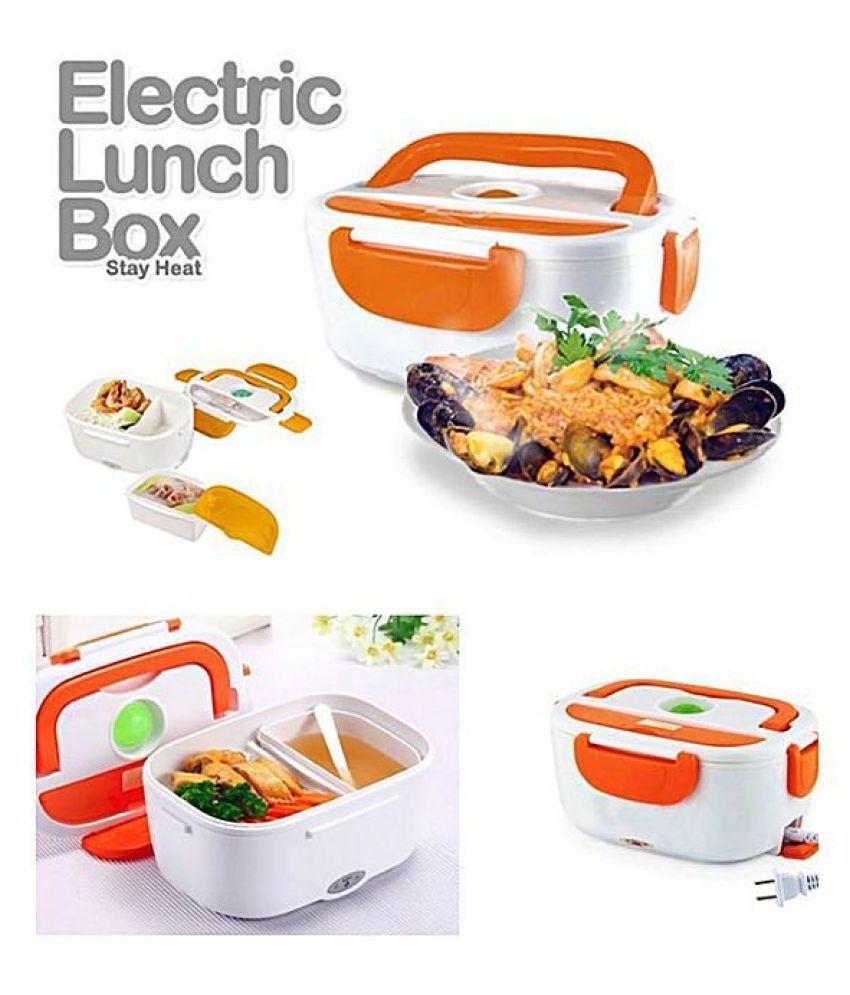 DREAMSKART Assorted Virgin Plastic Lunch Box