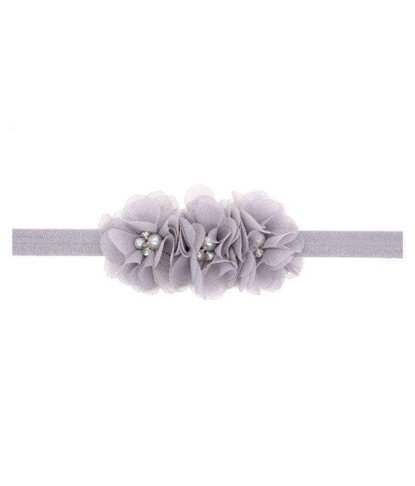 sets of 2 chiffon flowerheadband