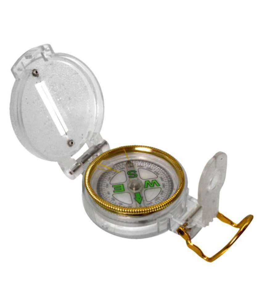 3 in 1 Military Hiking Camping Lens Lensatic Magnetic Compass