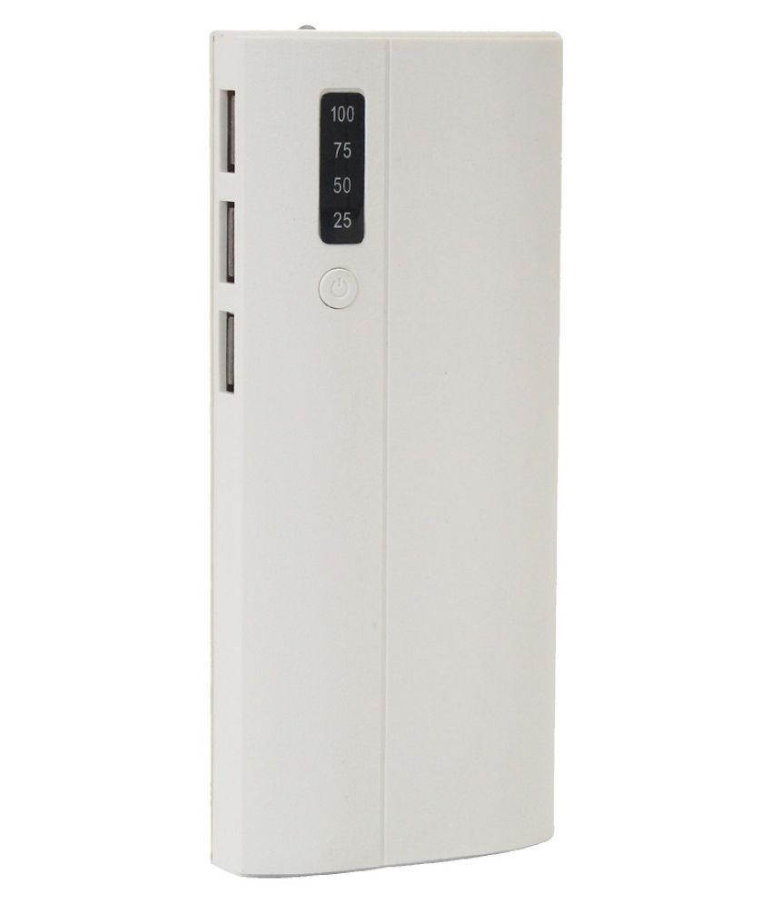 RR gadzet 10000  mAh Li Ion Power Bank White