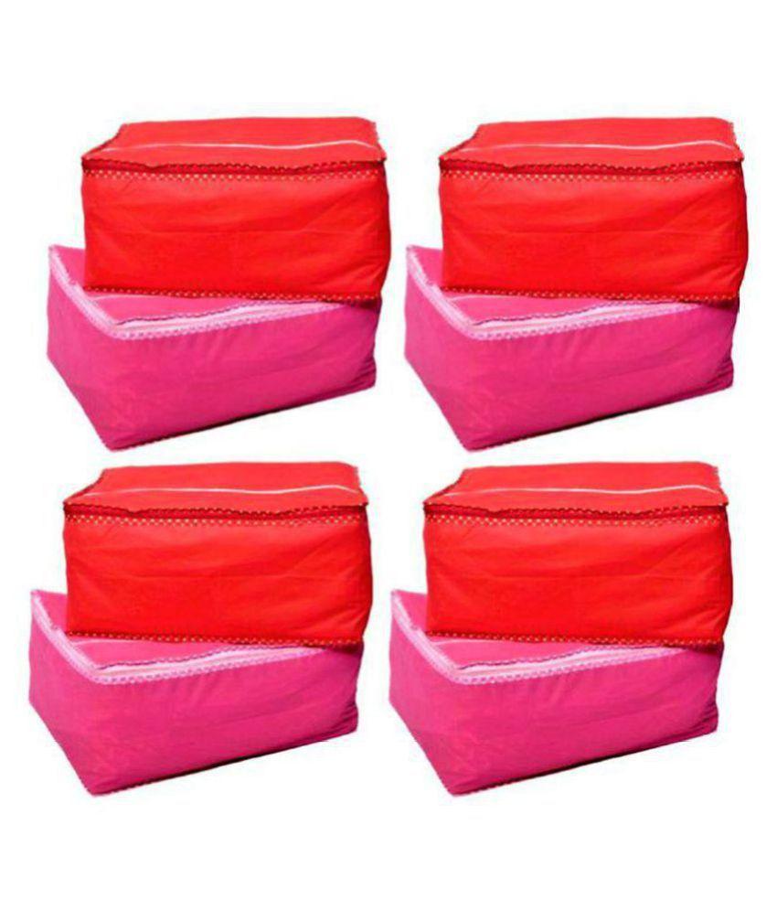 Bulbul Multi Saree Covers - 8 Pcs