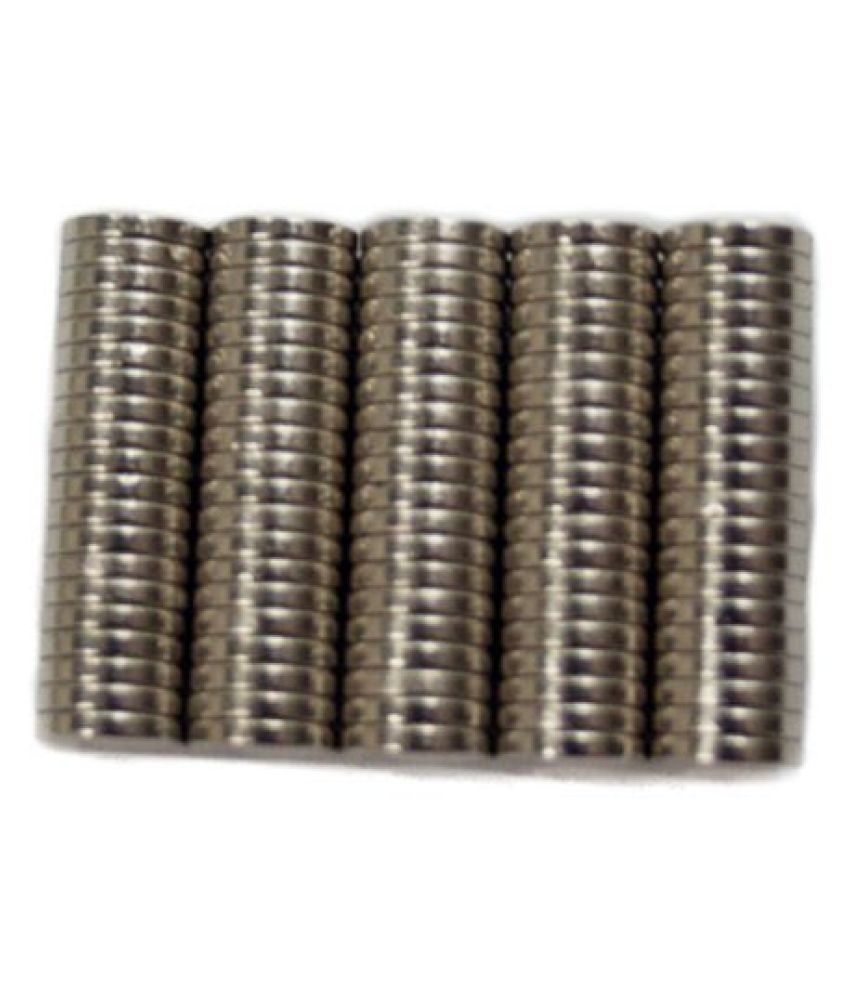TechtoneMagnetics Strong Neodymium Magnets 6mm X 1mm Disc Shaped- 100 Pcs