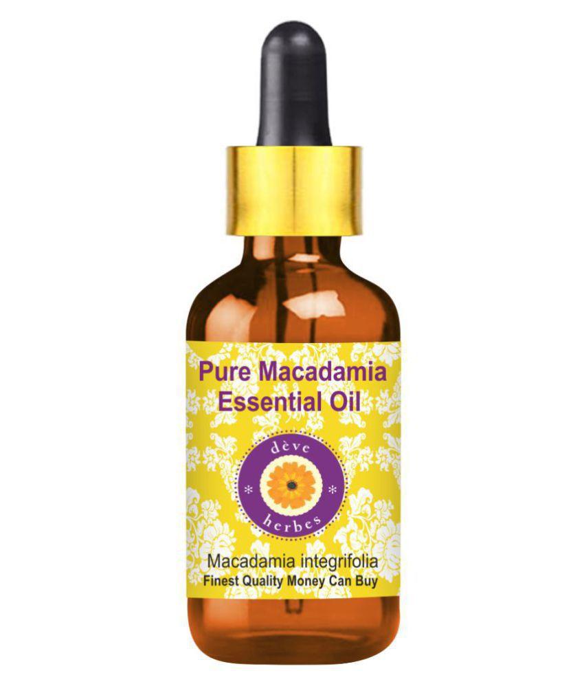 Deve Herbes Pure Macadamia Essential Oil 100 mL