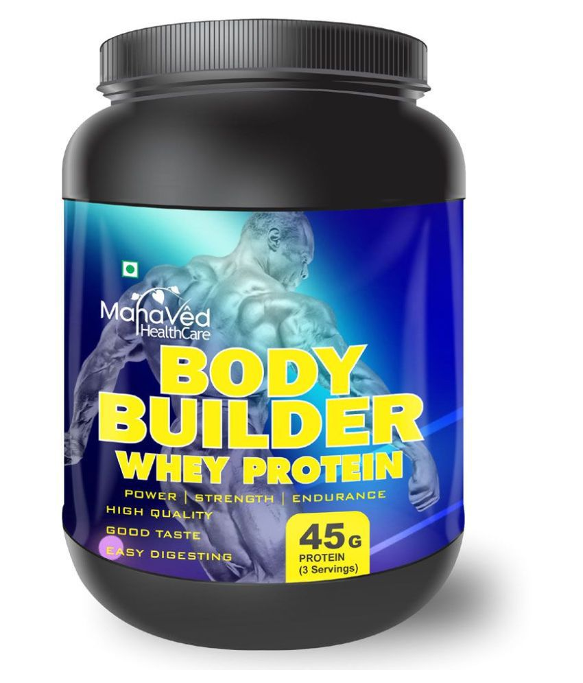 Mahaved Body Builder Whey Protein Supplement 1 kg