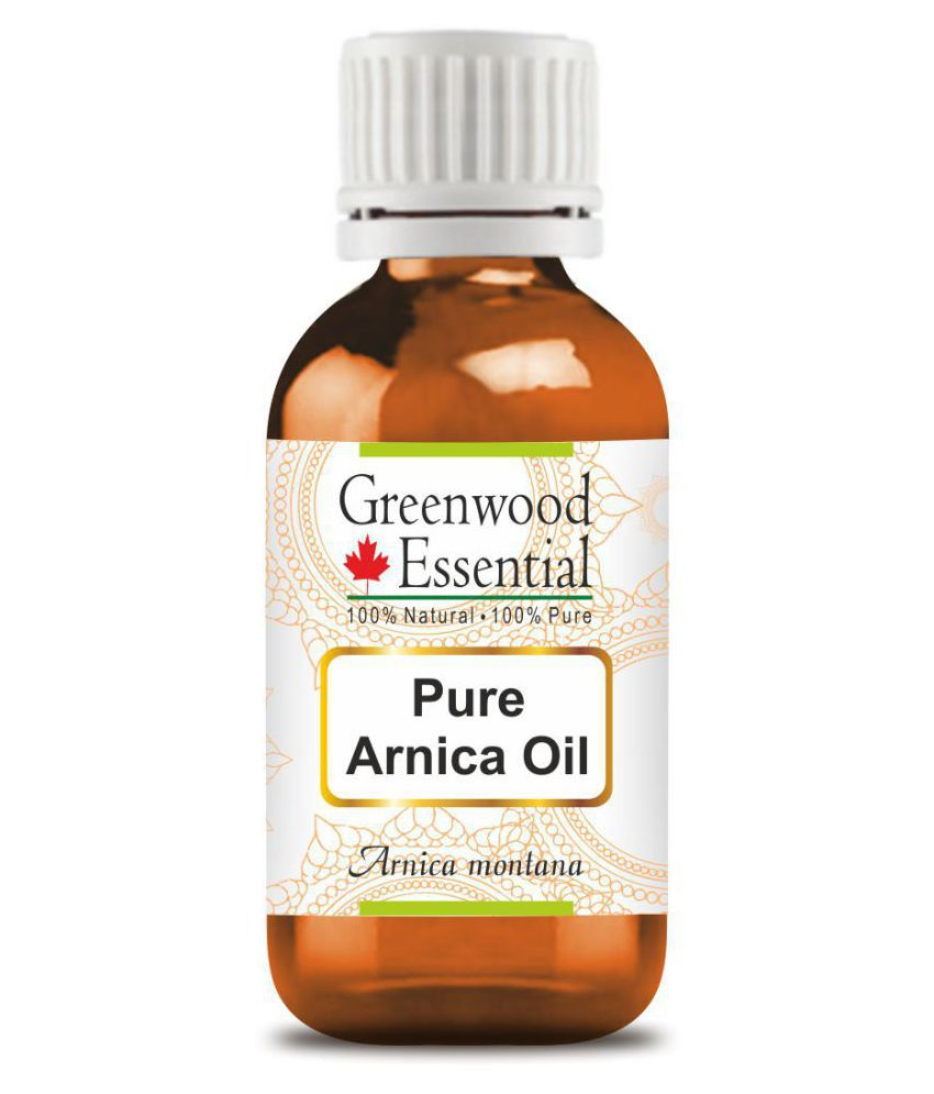 Greenwood Essential Pure Arnica Carrier Oil 100 mL