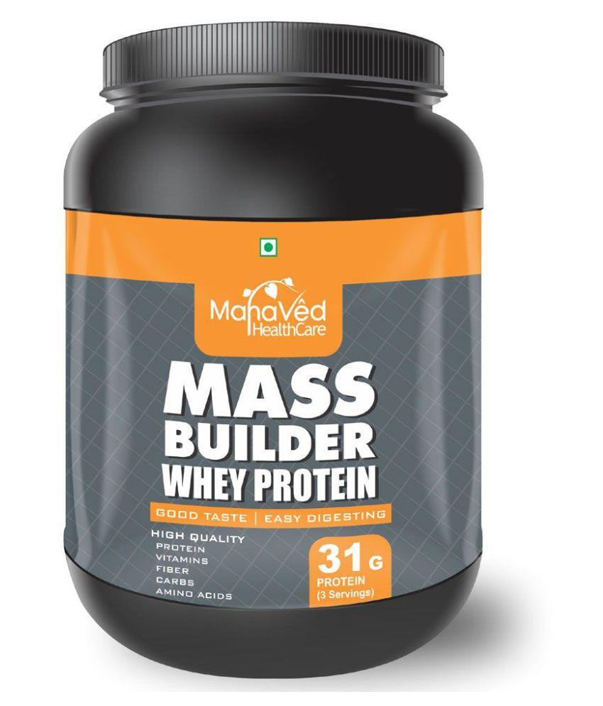 Mahaved Mass Builder Whey Protein   500 gm Mass Gainer Powder