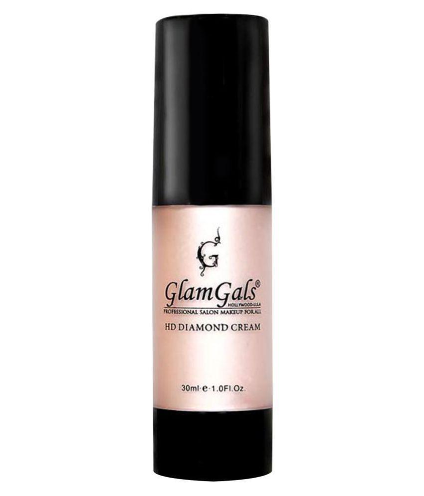 GlamGals HD Diamond Cream-illuminator Face Primer Lotion 30 g