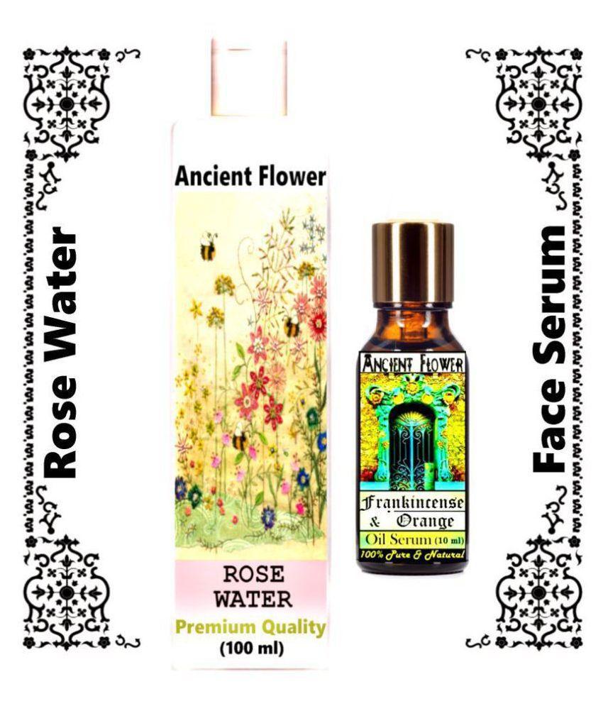 Ancient Flower Rose water, Frankincense & Orange Face Serum 110 mL